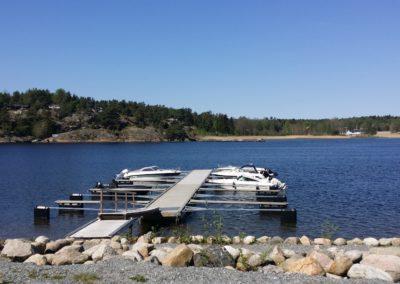Båtplasser tilgjengelig for alle tomter