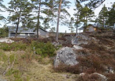 En av få ledige tomter på Solåsen