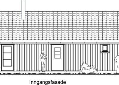 Solaug arkitektskisse ute nr. 1